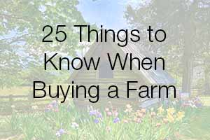 Buying a Farm in Virginia Info