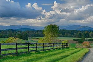 Farm for Sale in Virginia with Blue Ridge Mountain Views