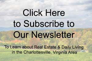 Farms in Charlottesville Virginia for Sale Newsletter