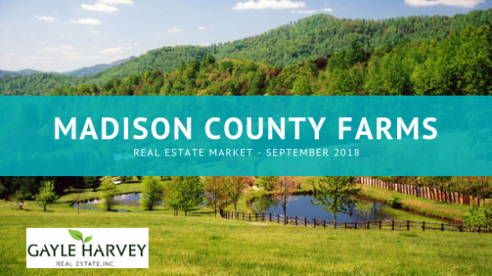 Real Estate Market for Farms in Madison County, Virginia